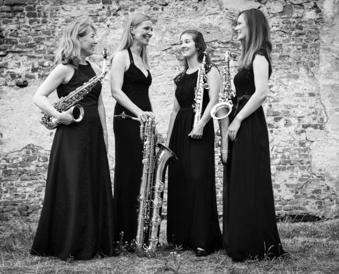 Deutsches Saxophon Ensemble ©Stephan Nordmann